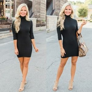 🆕⭐ Black Turtle neck bodycon dress ⭐